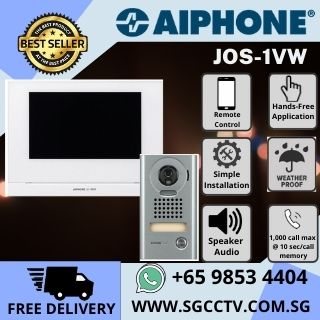AIPHONE Video Intercom Singapore JOS-1VW