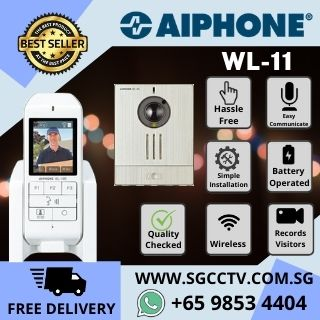 Video Intercom Singapore Comax Panasonic AIPHONE WL-11