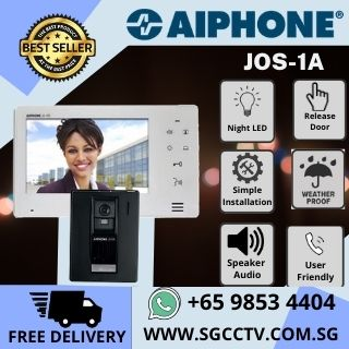 Video Intercom Singapore AIPHONE JOS-1A