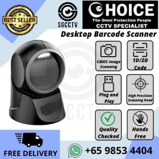 QR Desktop Barcode Scanner